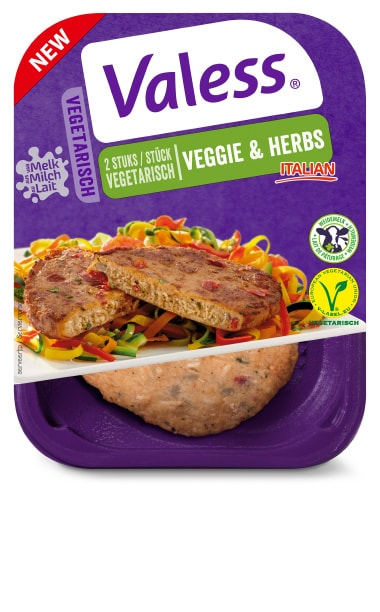 Valess 1049Valess Veggie & Herbs met pastapesto van broccoli en tomatensalade